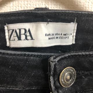 ザラ(ZARA)のZARA ブラックスキニーパンツ(スキニーパンツ)
