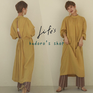 TODAYFUL - TODAYFUL■新品未使用■Gauze Gather Dress