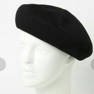 アウトドアプロダクツ(OUTDOOR PRODUCTS)のOUTDOOR PRODUCTS サーモ ベレー帽 黒(ハンチング/ベレー帽)