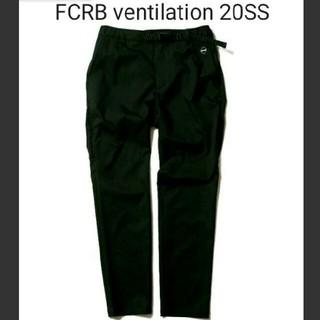 エフシーアールビー(F.C.R.B.)の【新品】FCRB VENTILATION PANTS 黒 M 2020SS(その他)