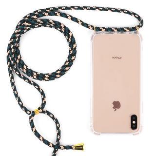 新品 iPhoneケース ストラップ付き おしゃれ(iPhoneケース)