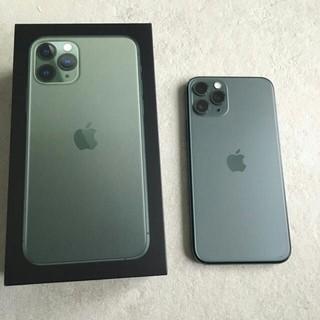 Apple - iPhone11pro 美品ミッドナイトグリーン SIMフリー コロナセール