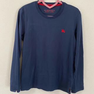 バーバリーブラックレーベル(BURBERRY BLACK LABEL)のバーバリーブラックレーベル 紺色ロンT(Tシャツ/カットソー(七分/長袖))