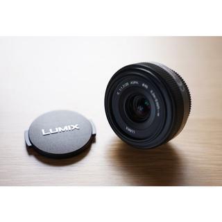 パナソニック(Panasonic)のPanasonic LUMIX G 20mm/F1.7 ASPH(レンズ(単焦点))