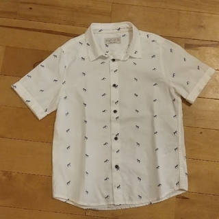 ザラ(ZARA)のZARA 子供服 半袖シャツ 128cm(ブラウス)