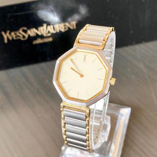 Saint Laurent - 稼働品 イヴ・サンローラン YSL  腕時計 レディース 美品