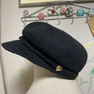 メルロー(merlot)の新品タグ付 fillil  帽子(キャスケット)