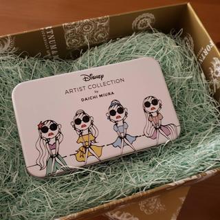 ディズニー(Disney)の【新品】メイクブラシセット DaichiMiura プリンセス(チーク/フェイスブラシ)