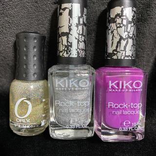 オーリー(ORLY)のKIKO ORLY ネイルセット クラッシュネイル ネイルカラー マニキュア(マニキュア)