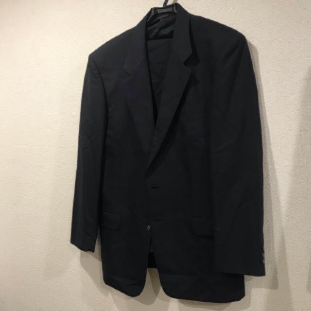 JOHN LAWRENCE SULLIVAN(ジョンローレンスサリバン)の古着 セットアップ スーツ 菅田将暉 littlebig ネイビー 紺 メンズのスーツ(セットアップ)の商品写真