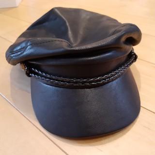 キャスケット レディース 帽子 ブラック(キャスケット)
