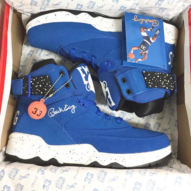 Ewing Athletics(ユーイングアスレチックス)の新品《タグ付き》アトモス別注 EWING ATHLETICS 33 メンズの靴/シューズ(スニーカー)の商品写真