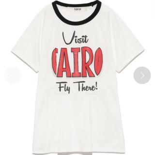 FURFUR / CAIROスーベニアロゴTシャツ