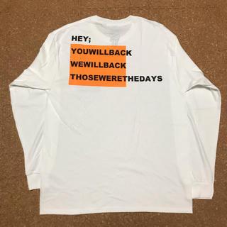 ギルタン(GILDAN)のdojoe fourteenyearsold ロンT エルメスオレンジ L 限定(Tシャツ/カットソー(七分/長袖))