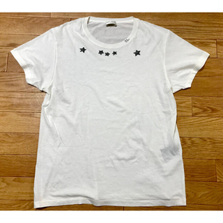 Saint Laurent - 16SS サンローランパリ スタープリント Tシャツ