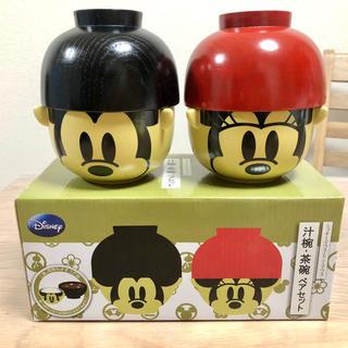 Disney - 【新品・未使用】ミッキー ミニー 茶碗セット