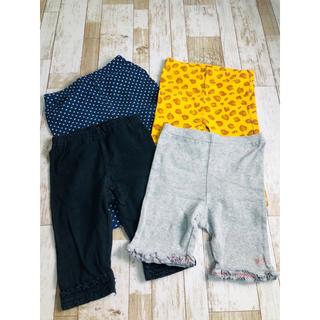 ユニクロ(UNIQLO)のショートパンツ 半ズボン 4点セット 90cm(パンツ/スパッツ)