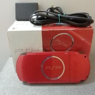 けいた様専用 PSP 3000 ラディアント・レッド (PSP-3000RR)(携帯用ゲーム機本体)
