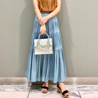 GRACE CONTINENTAL - グレースコンチネンタル シャーリングティアードスカート