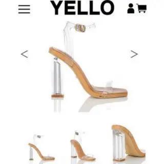 イエローブーツ(Yellow boots)のイエローブーツ クリアヒールサンダル (サンダル)