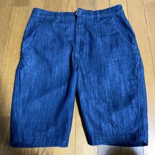 オプティミスティック(Optimystik)のOptimistik DENIM SARROUEL SHORT PANTS(ショートパンツ)