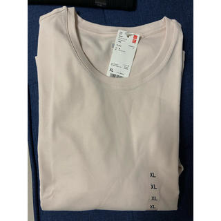 UNIQLO - 【新品 未使用】コットンフライスクルーネックTシャツ