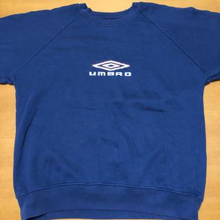 アンブロ(UMBRO)のアンブロ umbro スウェット トレーナー 刺繍ロゴ L(スウェット)