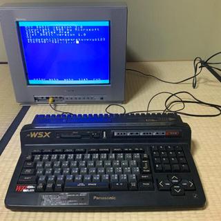 パナソニック(Panasonic)のMSX2+ Panasonic A1WSX(デスクトップ型PC)