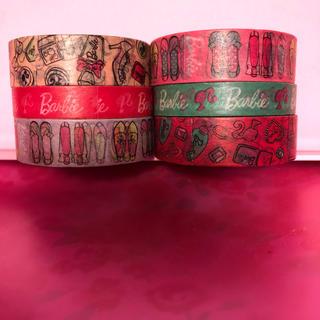 バービー(Barbie)のぽれ様専用Barbieマスキングテープセット(テープ/マスキングテープ)