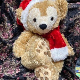 ダッフィー(ダッフィー)の初期クリスマスダッフィー  2005 ★白タグ  ビーズ入②(ぬいぐるみ)
