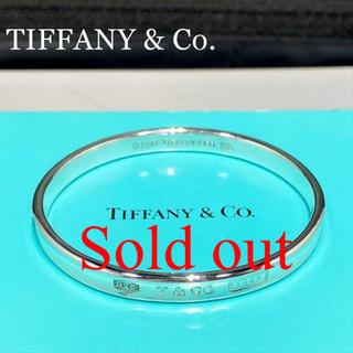 Tiffany & Co. - 新品仕上 ティファニー ナロー ブレスレット バングル シルバー 925