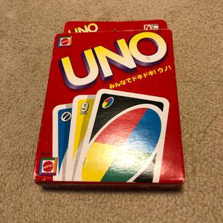 ウーノ(UNO)の【美品】UNOとトランプのセット(トランプ/UNO)