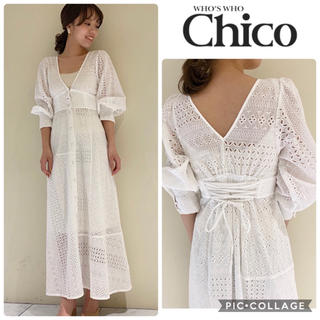 who's who Chico - 2020春の新作🌸新品タグ付き💓chicoコットンワンピース