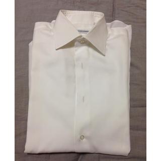 カミチャニスタ(CAMICIANISTA)のCAMICIANISTA カミチャニスタ ワイシャツ スリムフィット 38(シャツ)