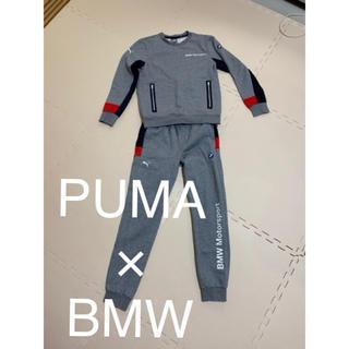 プーマ(PUMA)のプーマ × BMW スウェット セットアップ グレー s xs 美品(スウェット)
