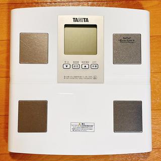 タニタ(TANITA)のタニタ 体重 体組成計 日本製 BC-705N-WH(体重計/体脂肪計)