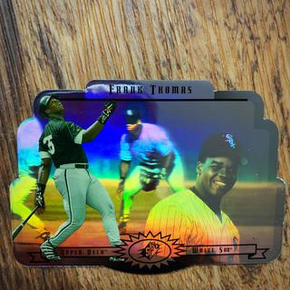 【送料込】フランク・トーマス選手の96SPxシルバー特殊加工3D立体野球カード!(シングルカード)