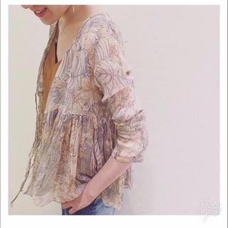 Plage - 【タグ付】plage辺見えみりさん着用シャツ