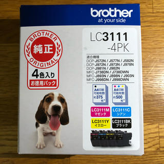 brother - brother ブラザー LC3111-4PK 純正 インクカートリッジ