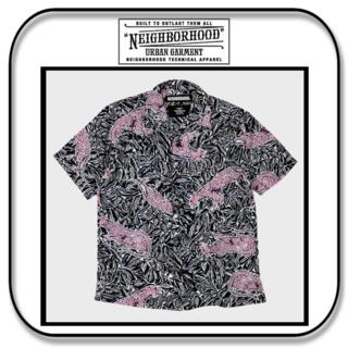 NEIGHBORHOOD - ネイバーフッド  アロハ パンサー シャツ (半袖) 「M」