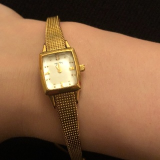 アガット(agete)のagete ダイヤ付きウォッチ(腕時計)
