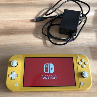 ニンテンドースイッチ(Nintendo Switch)の☆即日発送☆ ニンテンドースイッチライト イエロー(携帯用ゲーム機本体)