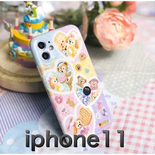 Disney - ダッフィー  iphone11  スマホケース  ディズニー