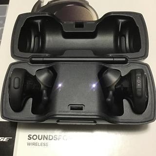 ボーズ(BOSE)のBose ワイヤレスイヤホン Bluetooth サウンドスポーツフリー(ヘッドフォン/イヤフォン)