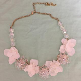 リズリサ(LIZ LISA)のLIZ ✨LISA✨白花ネックレス(ネックレス)