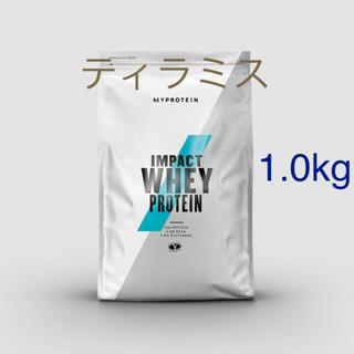 MYPROTEIN - impact ホエイプロテイン ティラミス 1.0kg