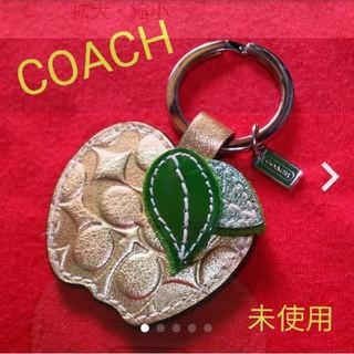 COACH - COACH 金のリンゴのバッグチャーム、未使用