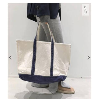 L'Appartement DEUXIEME CLASSE - アパルトモン   エルエルビーン Canvas Tote Bag L