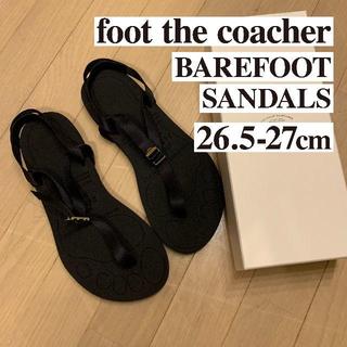 フットザコーチャー(foot the coacher)の新品foot the coacher BAREFOOT SANDALS 27cm(サンダル)