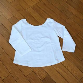 ノーリーズ(NOLLEY'S)の新品 ノーリーズ  NOLLEY'S 白カットソー(Tシャツ) 36(Tシャツ(長袖/七分))